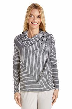 Cowl Neck Wrap - Shop Our Sun Wraps for Women - Coolibar  Sun Protective  Clothing - Coolibar f2ad435b39c5