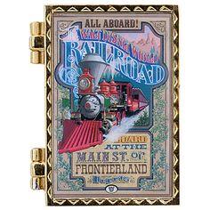 Walt Disney World Railroad Poster Donald Duck Pin | Collectibles | Disney Parks Authentic | Disney Store