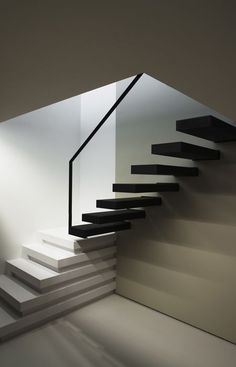 Staircase by Belgium architect Frank Sinnaeve
