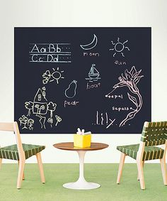 Another great find on #zulily! Chalkboard Panel Decal - Set of Four #zulilyfinds