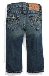 True Religion Brand Jeans 'Jack' Straight Leg Jeans (Infant)