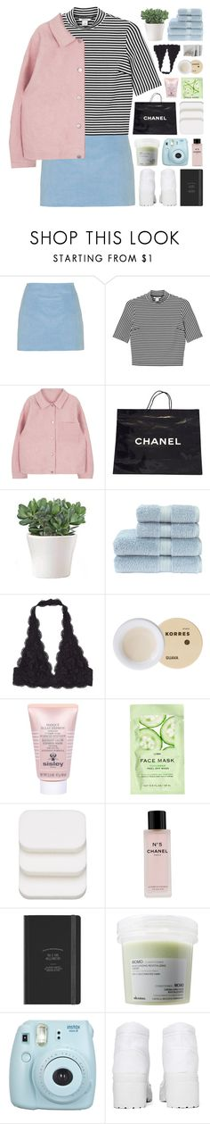 """NADIA WAS HERE + happy valentines day!"" by sabad on Polyvore featuring Topshop, Monki, Chanel, Christy, Korres, Sisley, H&M, COVERGIRL, Davines and Fujifilm"