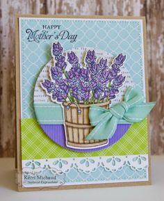 Cards by Kerri: Taylored Expressions April Sneak Peeks: Bloomin' Boots & Dies and Lavender Bouquet