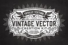 Totally Texture Vector Creation Kit by MakeMediaCo.