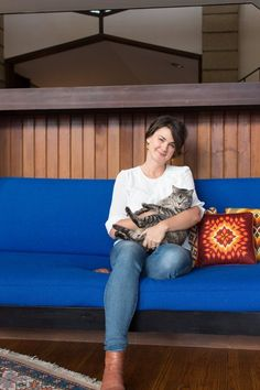 Bobbie & Matthew's Inspiring Vintage Modern Home — House Tour   Apartment Therapy