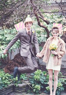Classic & Vintage Mens Clothing Blog: 1960's Inspired Wedding