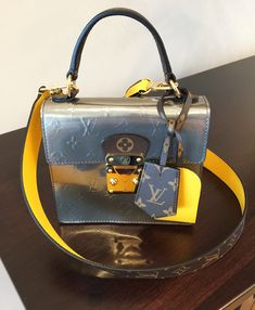 2ed45a06ca69 The Spring Street in Monogram Vernis patent leather is a versatile bijou of  a handbag.