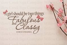 Fabulous and classy!