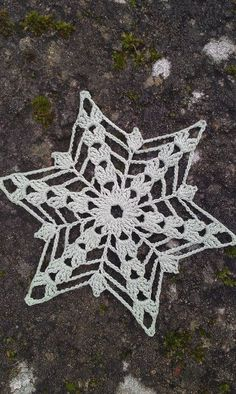 January Snowflake pattern
