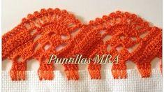 How to Crochet a Puff Flower - Crochet Ideas Crochet Edging Patterns, Crochet Borders, Crochet Designs, Crochet Stitches, Crochet Puff Flower, Crochet Flowers, Crochet Lace, Crochet Symbols, Cutwork Embroidery