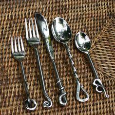Rustic Cutlery (5 Piece)