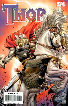 Thor #8 (50/50 Variant Cover)