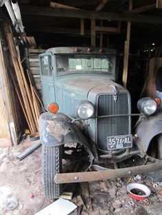 1934 Ford Ton And Half Farm Truck True Barn Find