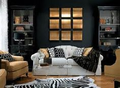 9 Canvases Black Rooms Candice Olson Modern Living And White Room