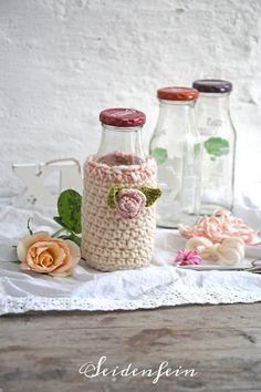 Recycling, Crochet Home Decor, Dean, Blog, Manualidades, Fast Crochet, Crochet House, Antique Dolls, Flower Crochet