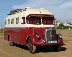 Old Mercedes Benz Bus