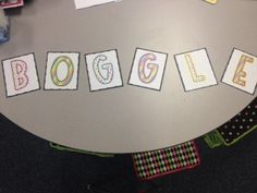 Live, Love, Laugh Everyday in Kindergarten: BOGGLE and Daily 5!