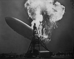 The Hindenburg disaster, by Sam Shere, 1937