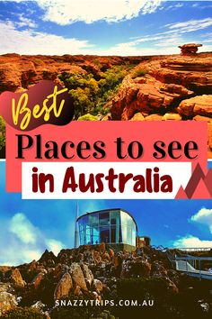 Awesome things to see and do in each state. #australiatravel #australiasites #australiablog #australiaguide #australiavisit #snazzytrips Brisbane, Melbourne, Sydney, Perth, Adventure Holiday, Adventure Travel, Western Australia, Australia Travel, Best Travel Guides