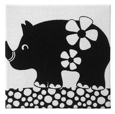 Black & White Canvas Wall art_Rhino By KidSizeStudio Black And White Canvas, Black White, Rhino Art, Cakes For Men, Rhinoceros, Canvas Wall Art, Beast, Sketch, Kids Rugs