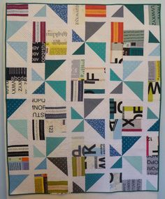 To Infinity and Beyond Quilt | by Patti of the Saskatoon Modern Quilt Guild