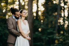 Natural Fall Wedding in the Woods / Gabor Muray Photography