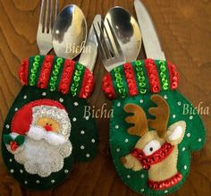 bucilla dropping in 6 pce felt christmas ornament kit - PIPicStats Felt Christmas Ornaments, Christmas Stockings, Homemade Christmas Gifts, Christmas Diy, Felt Decorations, Christmas Decorations, Felt Crafts, Christmas Crafts, Christmas Napkin Folding