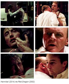 In my opinion, the scene between Hannibal and Will on the TV show Hannibal struck me with more emotion.
