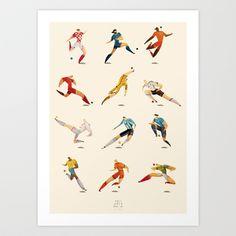 WORLD CUP Art Print by rafael mayani