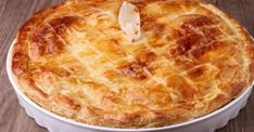 You can never go wrong with a classic chicken pot pie. Use puff pastry sheets and precooked chicken to cut back on the amount of time this delicious meal will take to make! Pork Recipes, Cooking Recipes, Chicken Recipes, Recipies, Empanadas, Breakfast Recipes, Dessert Recipes, Dinner Recipes, Vegan Recepies
