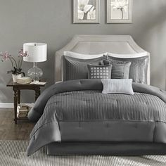 jcpenney.com | Madison Park Curtis Pleated 7-pc. Comforter Set