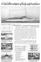Caroline II Diesel Yacht 1931 Ad Picture