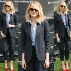 Emma Stone in Alivia #OliverPeoples #GetTheLook