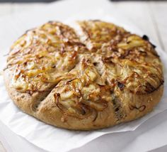 This savoury cheese and onion bread is delicious served warm from the oven