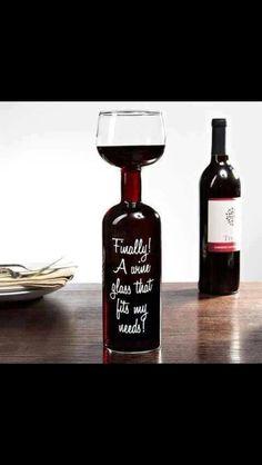 Wine bottle/Glass