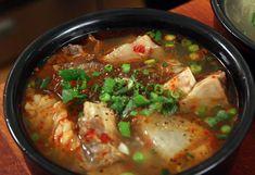 Galbitang-- Korean beef short ribs soup