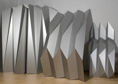 Aluminiumfassade, die den Knick 'raus hat