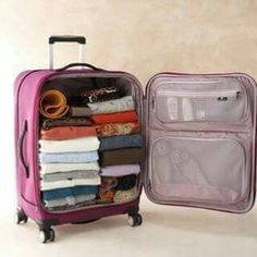 super Ideas travel bag organization vacations super Ideen Reisetasche O. Packing Tips For Travel, New Travel, Travel Essentials, Packing Hacks, Luggage Packing, Travel Ideas, Kids Luggage, Luggage Sets, Work Travel