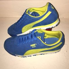 PUMA ROMA BASIC Barely used men's sneakers. Just need a little clean and just perfect! Puma Shoes Sneakers