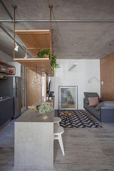 Galeria de Apartamento com partições / Casa100 Arquitetura - 2