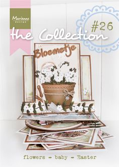 Collection #26 March 2015, Tiny's Flowers, Sending you Flowers, Baby themed Cards, Baby poems, Collectable Stork, Petra's Birds Creatable, New Design Folders, Easter egg Collectables