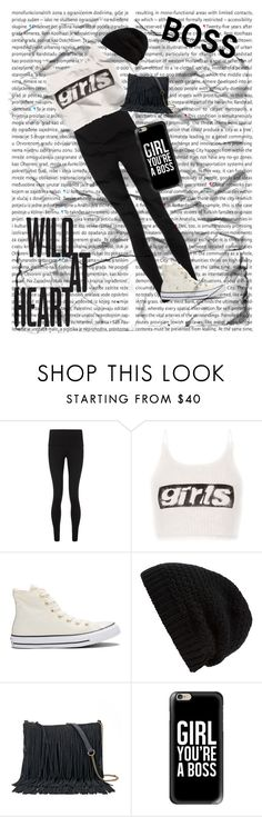 """Girls are Boss"" by mysterious-gal ❤ liked on Polyvore featuring Oris, Sweaty Betty, Alexander Wang, Converse, Rick Owens, SONOMA Goods for Life, Casetify, boss, wild and New"