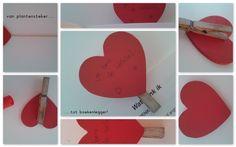 Liefde in bovenbouw Valentijn .