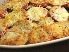 Tomato, Zucchini, Squash, and Caramelized Onion Gratin