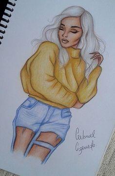 Mädchen zeichnen - # drawing # girl - New Ideas Girl Drawing Sketches, Art Drawings Sketches Simple, Amazing Drawings, Pencil Art Drawings, Beautiful Drawings, Cute Drawings, Amazing Art, Drawing Drawing, Drawings Of Girls