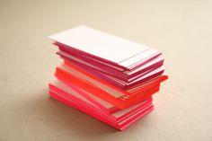 Neon kaartje | Letterpers