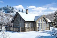 Scandinavian House, Home Fashion, Cabin, House Styles, Home Decor, Patio, Life, Scandinavian Home, Decoration Home
