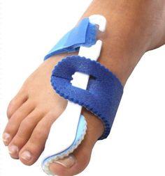 2 Nightime Bunion Regulator Foot Splints Toe Straightener