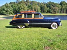 1949 Buick Roadmaster Woodie Stationwagon concourse immaculate RARE