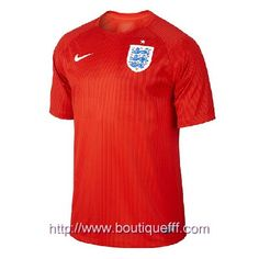 327e7a13591 England World Cup Official Red Authentic Nike Dri-Fit Soccer Jersey (Small)